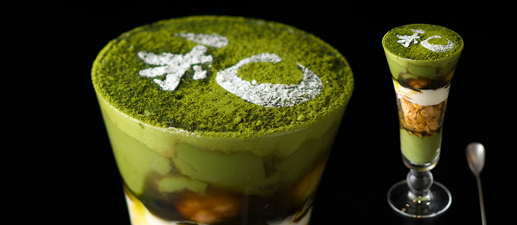 特選nagomi抹茶パフェ